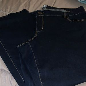 Dark Wash Stretch Jeans